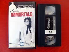 VHS.10) STORIA IMMORTALE - ELLE U - ORSON WELLES