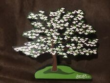 Shelia's collectors Houses- Trees and Gardens collection, Dogwood tree