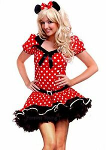 Forever Young Ladies Minnie Mouse Fancy Dress Costume