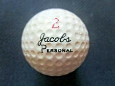 vtg - nos - TOMMY JACOBS Personal - Signature Golf Ball - Wilson Advisory Staff