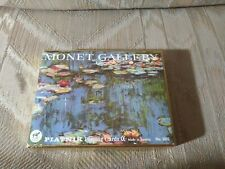 Piatnik Playing Cards 2 Complete Decks Monet Gallery Lilies No 2102 With Box...