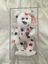 New ListingGlory Bear Ty Beanie Baby 1997 Rare with Errors Mint Condition  Good Deal 2b0eaae7f977