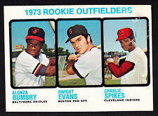 1973 TOPPS #614 DWIGHT EVANS RED SOX ROOKIE