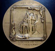 SIENKIEWICZ NOBEL PRIZE writer / TRILOGY POLISH MEDAL POLAND bronze medal / N102