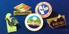 Rotary International Country  Pins Lot #12