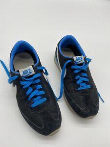 NIKE OCEANIA RETRO SNEAKER 307165-003 Black White Blue Women's size 8 Shoes