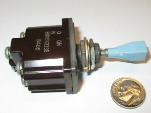 C-H / EATON SEALED  TOGGLE SWITCH  DPDT #8906K3  NONE-ON-ON 115vAC-15A  NOS
