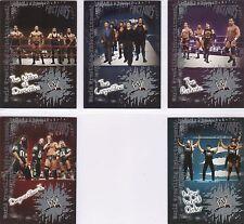 RARE CHAMPIONS /& CONTENDERS wwe Fleer 2004 Complete 17 Card Insert Set