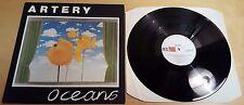 """ARTERY - OCEANS 12"""" LP VINYL RED FLAME RFM 4 A VG+ / VG+ 1982 ROCK"""