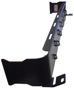 Tab 8 2U 19-inch Horizontal Rear Wire Manager (2u 3.5in) T8WM-HR2-B