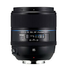 Samsung NX 85mm f/1.4 ED Prime Lens (White Box) + Hood -Fedex to USA