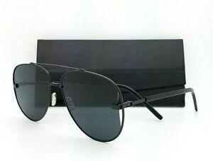 NEW Dior Homme sunglasses DIOR Scale 807 Black Grey Men's Aviator AUTHENTIC 58mm