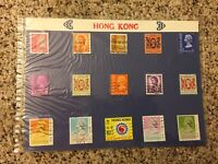Hong Kong Stamps Queen Elizabeth II Use Mounted Set Of 15 1991 1970