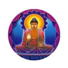 Mandala Arts Meditation Buddha Light 2 Sided High Quality Circle Window Sticker