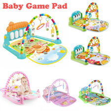 3-in-1 Baby Music Gym Play Lay Fitness Fun Light Piano Toy Boy Girl Activity Mat