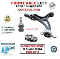 FRONT AXLE LEFT SUSPENSION Lower ARM for MERCEDES BENZ M CLASS W164 2005-2011