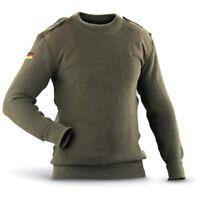 Genuine Issue German Commando Sweater, New Dead Stock, Olive Drab