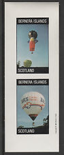 GB Locals - Bernera 2824 - AVIATION - BALLOONS imperf sheetlet unmounted mint