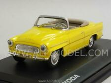 Skoda Felicia Roadster 1964 Yellow Banana 1:43 ABREX 143ABS703GB