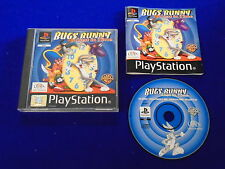 ps1 BUGS BUNNY Lost In Time Rare Game Boxed COMPLETE PAL ps2 ps3