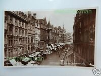 CORPORATION STREET BIRMINGHAM REAL-PHOTOGRAPH POSTCARD 1949 VALENTINE'S A686/316