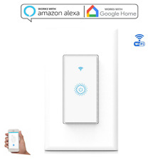 Smart Wi-Fi Light Switch in Wall Works with Amazon Alexa Google Home Android IOS