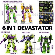 Transformers Devastator 6in1 GT Engineering Vehicle Robot Action Figure in stock