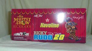 Ricky Rudd 2002 Havoline Muppet Show Great Gonzo NASCAR diecast Ford NRFB mint