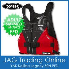 YAK KALLISTA LEGACY 50N ADULT S/M 40-70KG PFD Kayak Life Jacket Buoyancy Aid