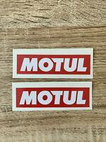 MOTUL autocollant lubrifiant decal sticker aufkleber pegatina 9cm - 3,54in