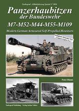 Tankograd 5026 Panzerhaubitzen der Bundeswehr M7-M52-M44-M55-M109 Modern German