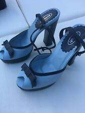 SCHUH - VINTAGE STYLING PLATFORM SHOES - NEW WITH TAGS