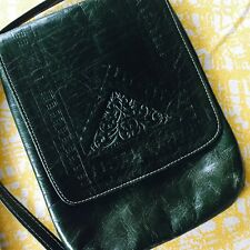 Vintage Green Shoulder Messenger Style Retro Bag Purse Ladies Boho Gypsy