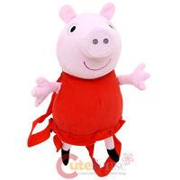 "Nick Jr Peppa Pig Plush Doll Backpack Costume Bag 15"""