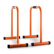 Barre Push Up Parallele Dip Allenamento Fitness Core Esercizi Crosstrain Arancio