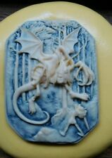 The battle cameo silicone push mold mould  resin sugar craft