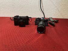 Yashica Electro 35 & Yashica FX-3