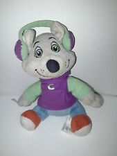 Chuck E Cheese Rat Mouse Plush Toy Advertising Food Head Phones 2018 B7