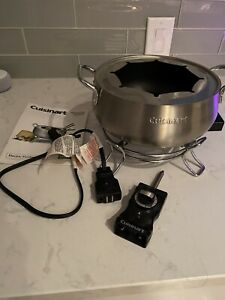 Cuisinart CFO-3SS Electric Fondue Maker Silver New Years Holidays Appliance
