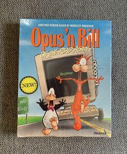 Berkeley Breathed's Opus 'n Bill On The Road Again Screen Saver Vintage Sealed