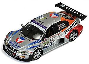 Seat Toledo Gt 24h Spa 2003 #103 Defourny Lavieille De Castro 1:43 Ixo