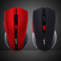 Portable 2400DPI 2.4G Wireless Gaming Mouse Optical Mice For Computer PC Laptop