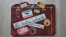 Livre enfant de Voyage LA VALISE VOLANTE Air France SNCF French Line BARBE 1951