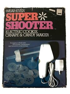 Vintage Wear-Ever Super Shooter Electric Cookie & Candy Maker 1st Edition 70001