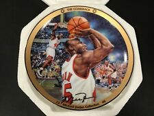 "UPPER DECK MICHAEL JORDAN ""THE COMEBACK"" LIMITED EDITION 8"" PLATE WITH COA"
