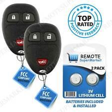 2 for GMC Sierra 2007 2008 2009 2010 2011 2012 2013 keyless Entry remote key fob