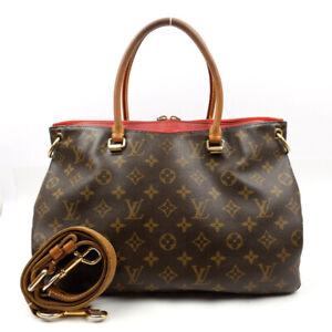 LOUIS VUITTON Handbag Shoulder Bag 2WAY Palas Threes Monogram M41175 M41175