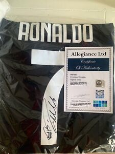 Cristiano Ronaldo Signed Adidas Juventus Soccer Jersey Authenticated With COA