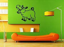 Wall Stickers Vinyl Decal For Kids Nursery Hippo Animal ig1438