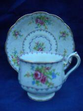 "Royal Albert Petit Point Cup and Saucer/s  5 5/8"" England"